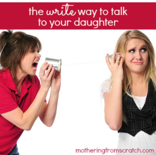 teen parent communication