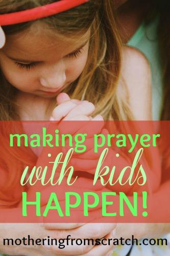prayer with kids