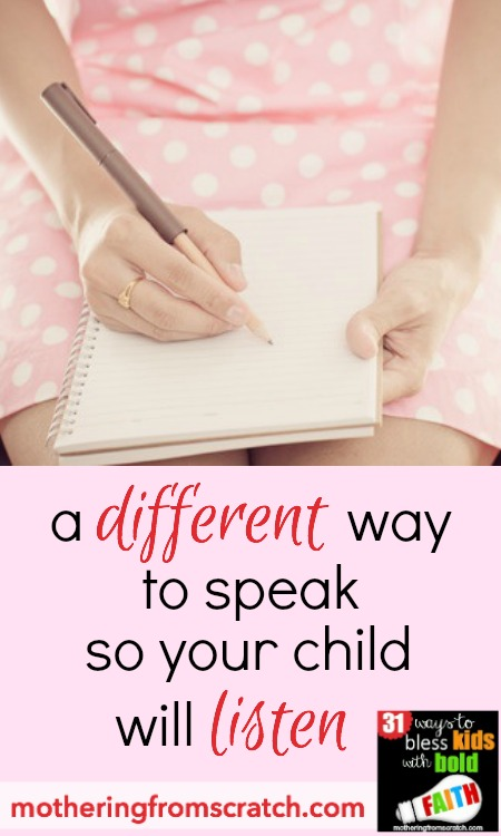 As moms, we want to share our hearts with our children. Sometimes words fail us. Or, we talk and our children -- especially as they get older -- just don't seem to listen. I found tremendous success in this method of communication with my daughter. She started listening. And it made all the difference. Read this post to find out more!