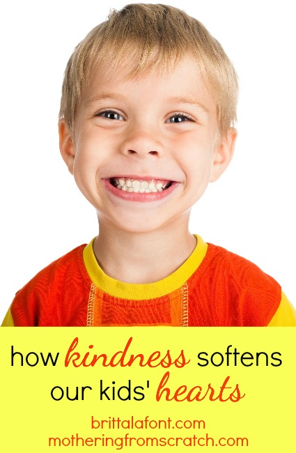 how to show kids kindness